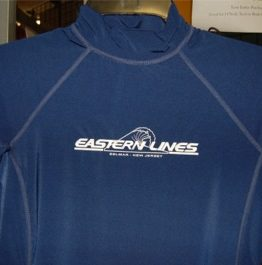Eastern Lines Short Sleeve Rash Guard-Eastern Lines Surf Shop