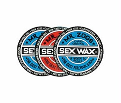 Sex Wax Packs of 3