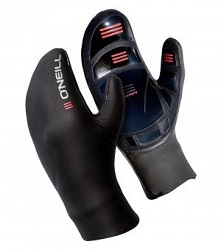 O'Neill 7mm Psycho Mitten Gloves