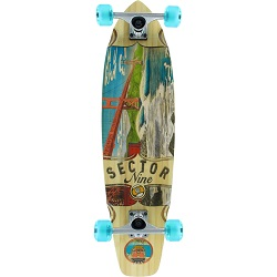 "Sector 9 Bamboo Fort Point 34"" Complete"