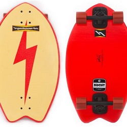 Hamboards Biscuit Cruiser Red Bolt