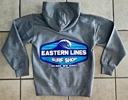 Eastern Lines Yth Block Wave Hoodie